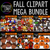 Fall Clipart Mega Bundle {Creative Clips Clipart}