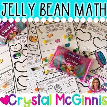 DOLLAR DEAL! 10 Jelly Bean Hands-On Math Activities (Easter Fun!)