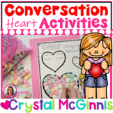 DOLLAR DEAL! 10 Valentine Conversation Hearts Math Activities (Candy Hearts)