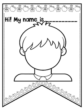 BACK TO SCHOOL {ALL ABOUT ME} PENNANTS