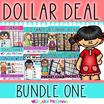 DOLLAR DEAL BUNDLE! 14 Dollar Deals (Math, Reading, Word Work, and More!)