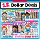 DOLLAR DEAL BUNDLE 3! 12 Dollar Deals (Math, Reading, Word Work, and More!)