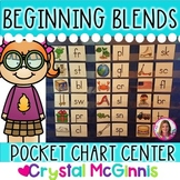 DOLLAR DEAL! Beginning Blends Pocket Chart Center