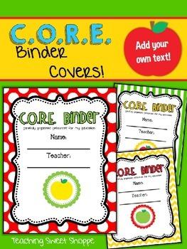 {DOLLAR DEAL}  C.O.R.E. Binder Covers