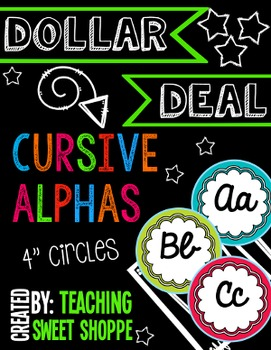 {DOLLAR DEAL} Classroom Alphabet