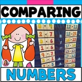 DOLLAR DEAL! Comparing Numbers Pocket Chart Math Center