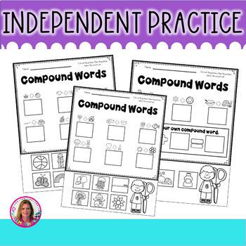 DOLLAR DEAL! Compound Words Pocket Chart Center