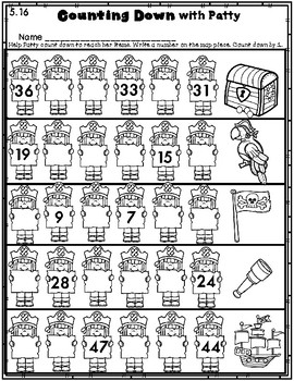 DOLLAR DEAL! Count by 1s Within Ten Worksheets and Centers