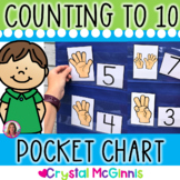 DOLLAR DEAL! Counting (0-10) Pocket Chart Center (9 Sets)