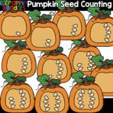 Counting Pumpkin Seeds Clipart {Scrappin Doodles Clip Art}