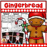DOLLAR DEAL! Gingerbread Man Printables, Activities, and Craft