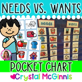 DOLLAR DEAL! Needs vs. Wants Pocket Chart Sort
