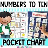 DOLLAR DEAL! Number Recognition Pocket Chart Center (Numbe