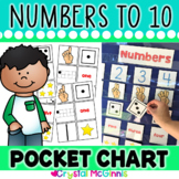DOLLAR DEAL! Number Recognition Pocket Chart Center (Numbe