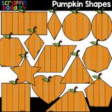 Pumpkin Shapes Clipart {Scrappin Doodles Clip Art}