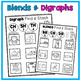 DOLLAR DEAL! Read and Stack (Blends & Digraphs) Literacy Center Activity