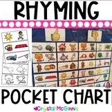 DOLLAR DEAL! Rhyming Words Pocket Chart Center