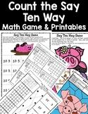 DOLLAR DEAL! Say Ten Way Print and Play Game and Printables Teen Numbers