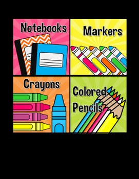 {DOLLAR DEAL} School Supply Labels