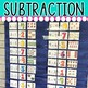 DOLLAR DEAL! Subtraction Within 10 Pocket Chart Center
