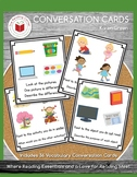 Vocabulary Conversation Cards - $$DOLLAR DEAL$$