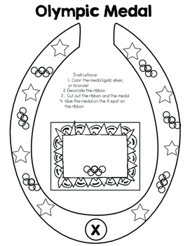 Olympic Medal Printables (Set of 10 PDFs)