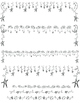DOLLAR SALE: Sun, Moon and Stars Borders, Dividers & Clip Art (62 Files)