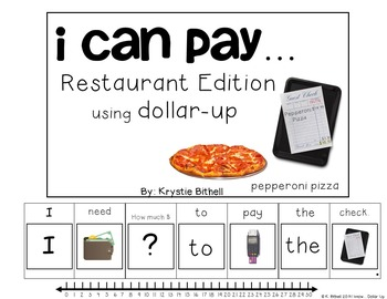 DOLLAR UP: I Can Buy... Restaurant Money Adapted Book