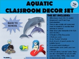 Classroom Set Up and Decor Aquatic Theme