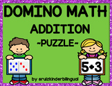 DOMINO MATH ADDITION ~PUZZLES~
