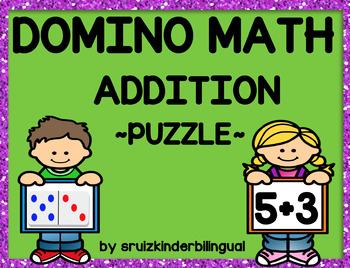 DOMINO MATH ADDITION ~PUZZLES~