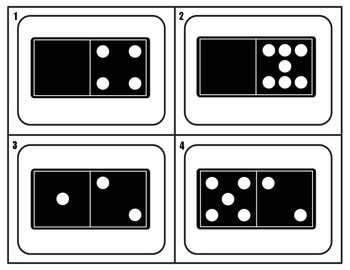 DOMINO MATH DIFFERENTIATED ACTIVITIES *Counting, Comparing, Writing Equations