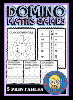 DOMINO MATHS GAMES | PRINTABLES
