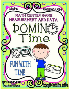 DOMINO TIME CENTER MATH GAME AND MAT COMMON CORE MAFS ENVISION