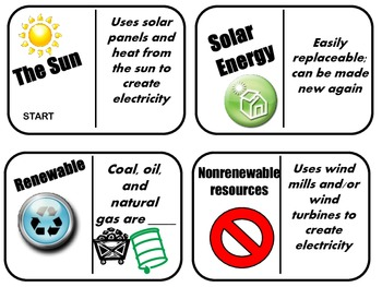 DOMINOES- Energy Sources