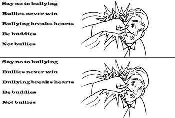 DON'T BULLY, BE A FRIENDS