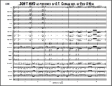 DON'T MIND by KENT JONES Marching Band Arrangement