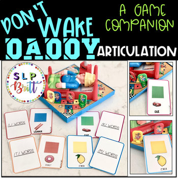 DON'T WAKE DADDY, GAME COMPANION, ARTICULATION (SPEECH & LANGUAGE THERAPY)