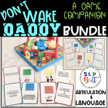 DON'T WAKE DADDY, GAME COMPANION, BUNDLE (SPEECH & LANGUAGE THERAPY)