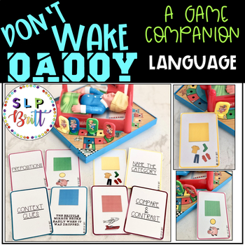 DON'T WAKE DADDY, GAME COMPANION, LANGUAGE (SPEECH & LANGUAGE THERAPY)
