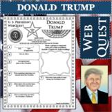 DONALD TRUMP U.S. PRESIDENT WebQuest Research Project Biography