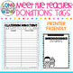 DONATIONS FOR MEET THE TEACHER EDITABLE