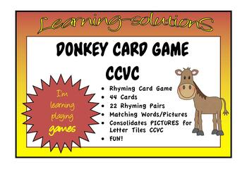 DONKEY Card Game for CCVC