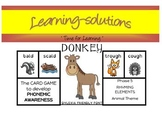 PHONICS - DONKEY CARD GAME - Phase 5 Complex Vowels (ough, augh, al, air, are +)