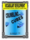 SPEECH THERAPY CRUMBLING CUBES VOCABULARY DEVELOPMENT