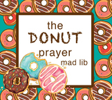 DONUT Mad Lib. *distance learning interactive pdf & google