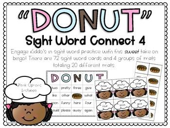DONUT: Sight Word Bingo