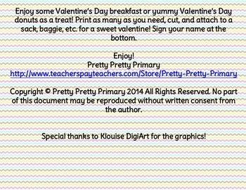 DONUT YOU KNOW VALENTINES