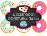 DONUTation Classroom Set- Donut themed, Open house, Meet t