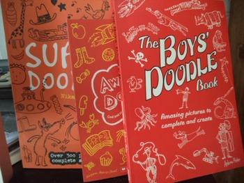 DOODLE BOOKS                (SET OF 3)